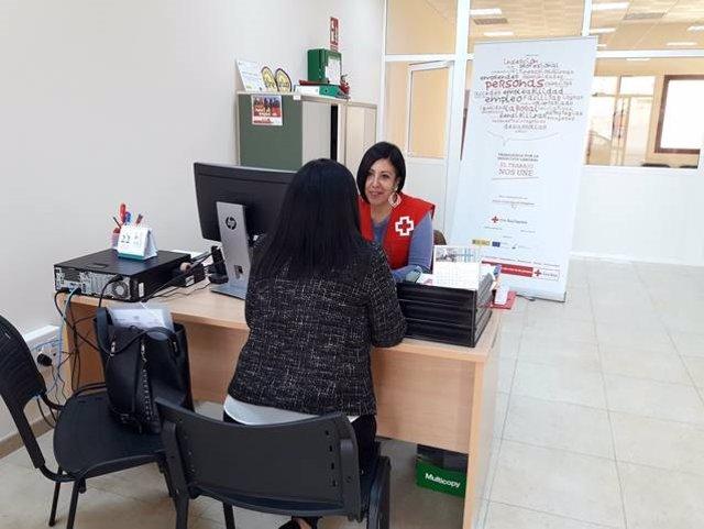 Proyecto 'Apoyo +45' de Cruz Roja