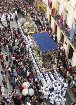 Procesión en Cartagena, Semana Santa