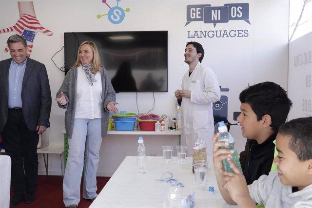Gonzalo Participa En Distintos Talleres Junto A Los Menores Que Residen En Vivie