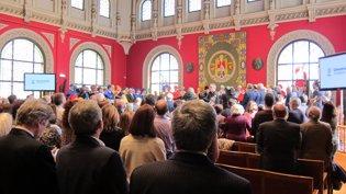 Celebración de San Braulio, patrón de la Universid