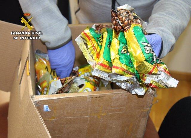 Guardia Civil interviene más de 5 kilos de cocaína bajo la apariencia de café