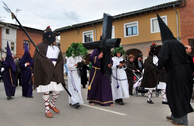 Procesión en Castrillo
