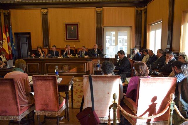 El Ayuntamiento De León Aprueba La Declaración De Obra Nueva Del Palacio De Expo