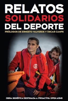 Portada del libro 'Relatos Solidarios' con Valverde
