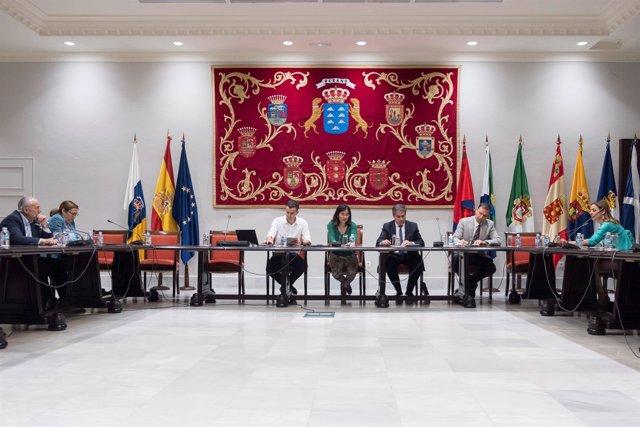 Carolina Darias en la Comisión de Asuntos Europeos y Acción Exterior