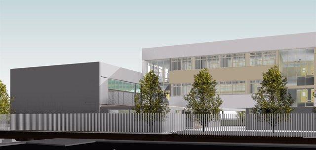 Proyecto del nuevo IES de Jerez