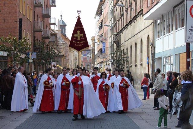 Banda de cornetas de  Palencia. Archivo
