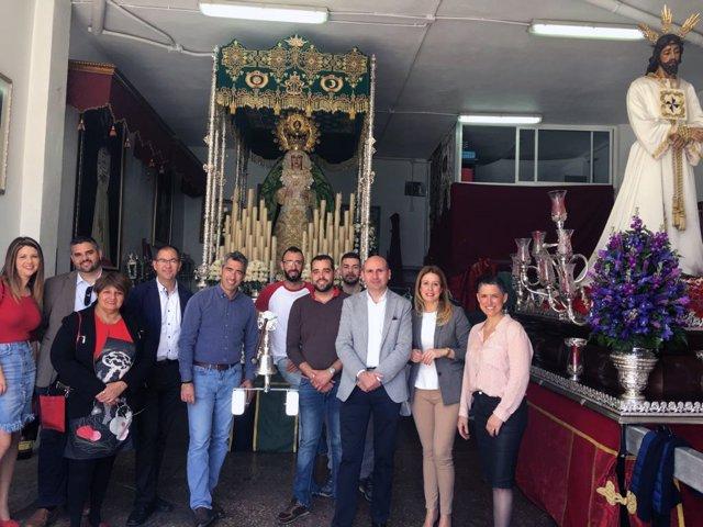PSOE en Benalmádena Francisco Conejo Semana Santa