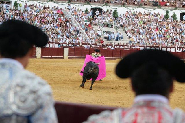 Imagen de archivo de una corrida de toros en Málaga