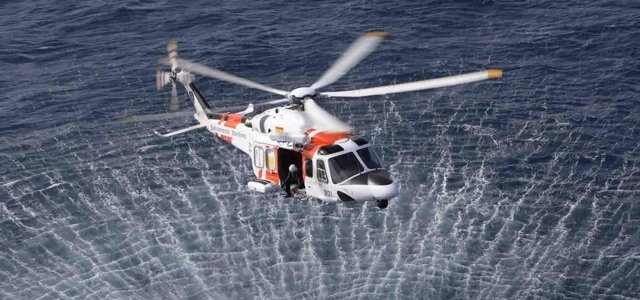 Medios Aereos Salvamento Marítimo, helicóptero