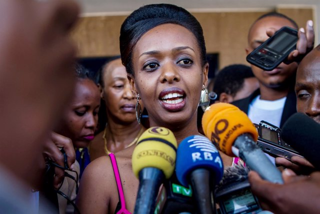 Diane Shima Rwigara, destacada crítica y opositora de Paul Kagame