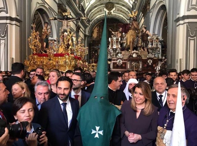 Susana Díaz Semana Santa Málaga