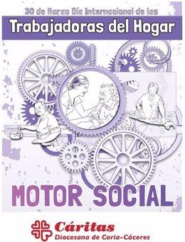 30 Marzo. Día Internacional Trabajadoras Hogar. Cáritas Reivindica Sus Derechos