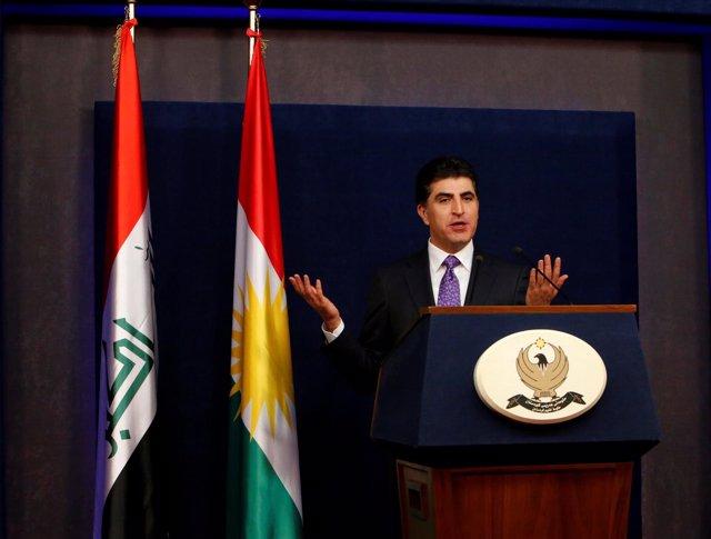 El primer ministro del Gobierno regional del Kurdistán, Nechirvan Barzani