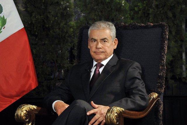 El nuevo primer ministro de Perú, César Villanueva.