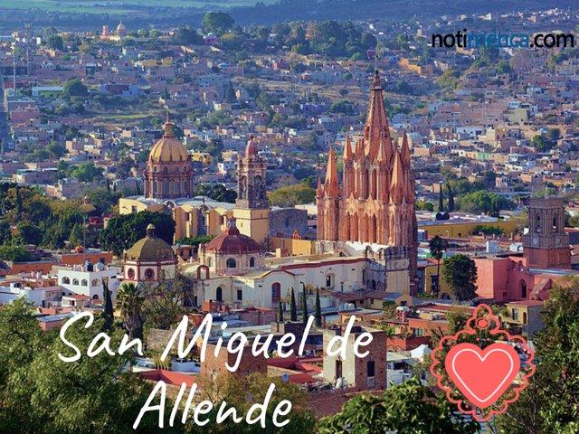 San Miguel de Allende, la pueblo más bonito del mundo