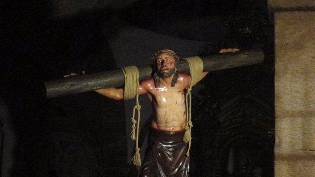 Jesús Condenado procesiona esta medianoche en Cáceres