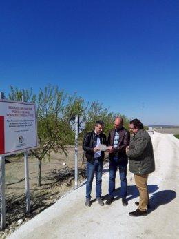 La Diputación de Córdoba mejora el camino del Pozo de los Cochinos