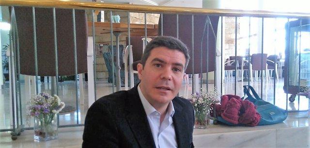 El diputado andaluz de Cs Sergio Romero