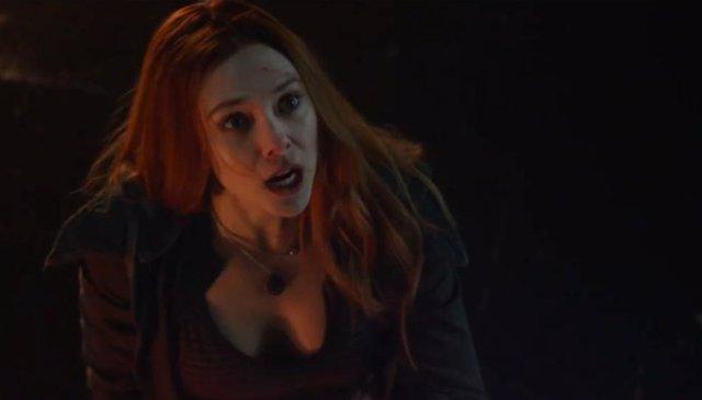 Bruja Escarlata en Vengadores: Infinity War