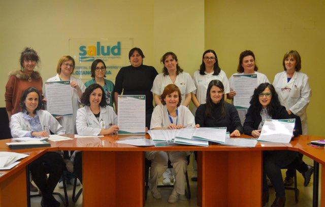 Presentación del Decálogo para profesionales sobre la estancia del paciente