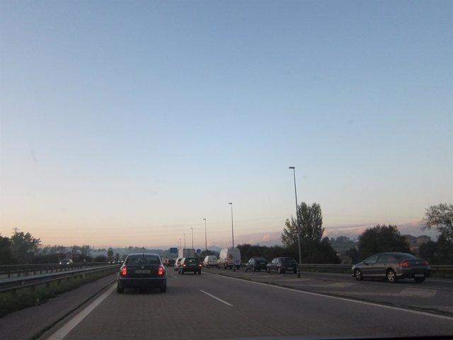 Autopista A66 (Y), Tráfico, retenciones, carreteras.