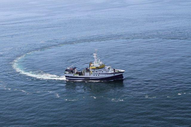 Barco IEO Instituto Oceanografía centro oceanográfico
