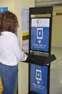 Estación de carga para móviles