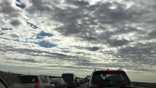 Retenciones de tráfico, caravana, atasco