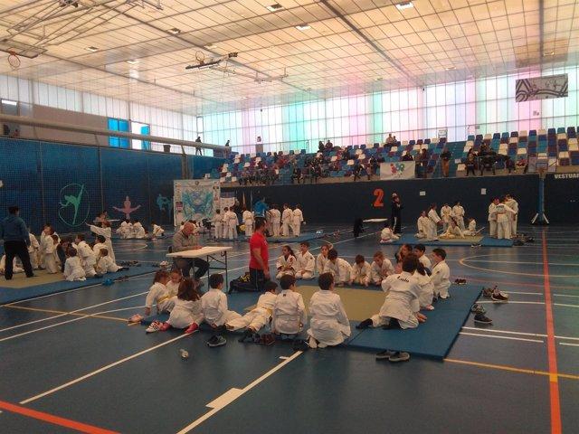 Encuentro provincial de judo en Almería