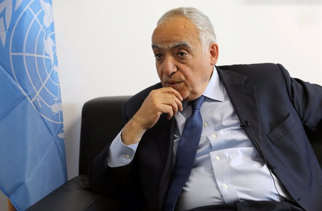 Ghassan Salamé, enviado de la ONU para Libia