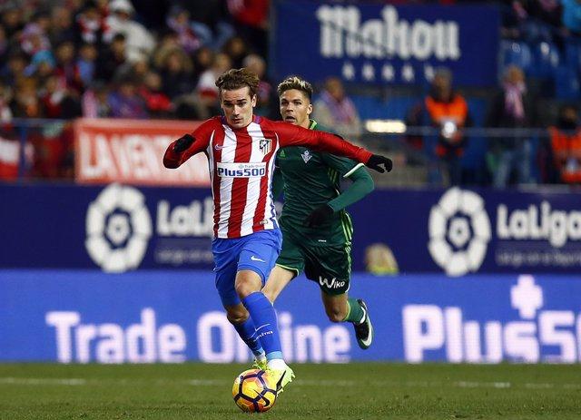 Antoine Griezmann en el Atlético de Madrid - Real Betis