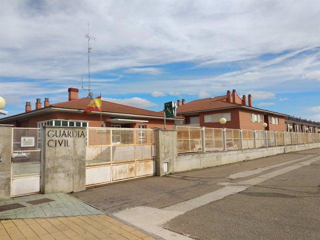 Valladolid.- Cuartel de la Guardia Civil en Cabezón de Pisuerga.