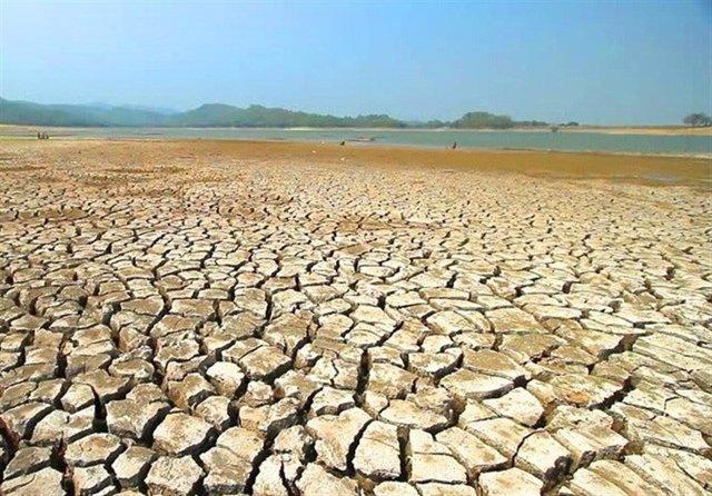 Sequía en la zona de Shahreza, Irán