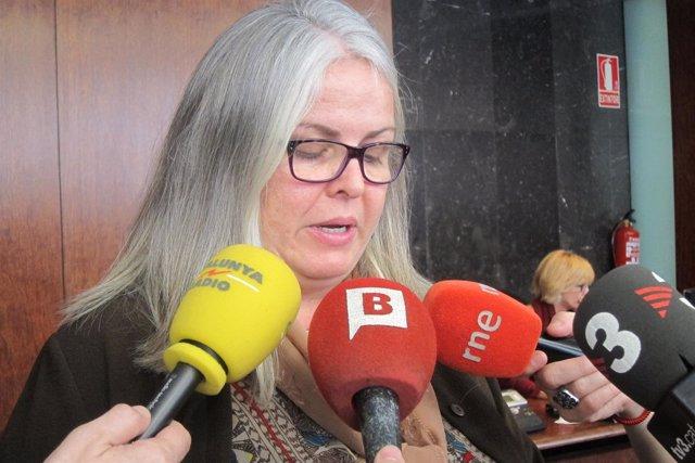 La concejal de PDeCAT en Barcelona Maite Fandos