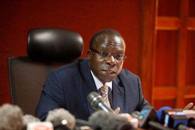 El juez del Supremo de Kenia George Odunga