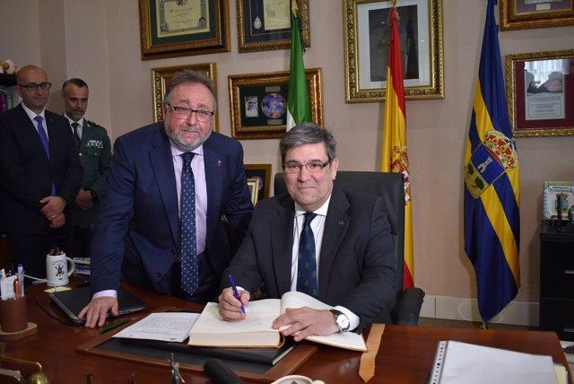 Visita Oficial Del Director General De La Guardia Civil A Alhaurín De La Torre