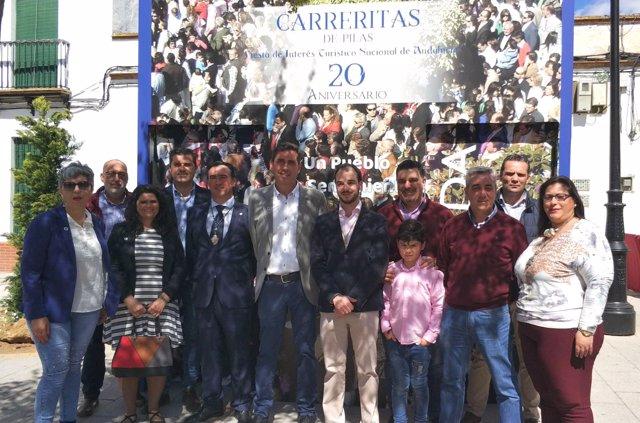 Muestra sobre las Carreritas de Pilas (Sevilla)