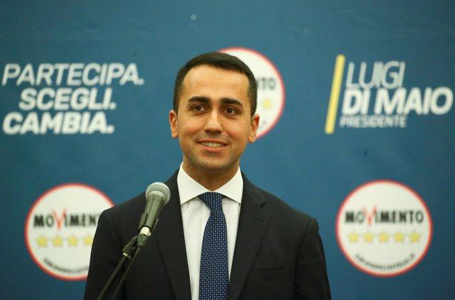 Luigi di Maio, líder del M5S