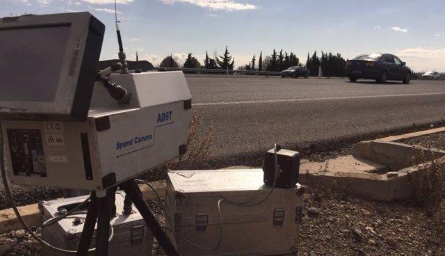 Radar en la AP68.