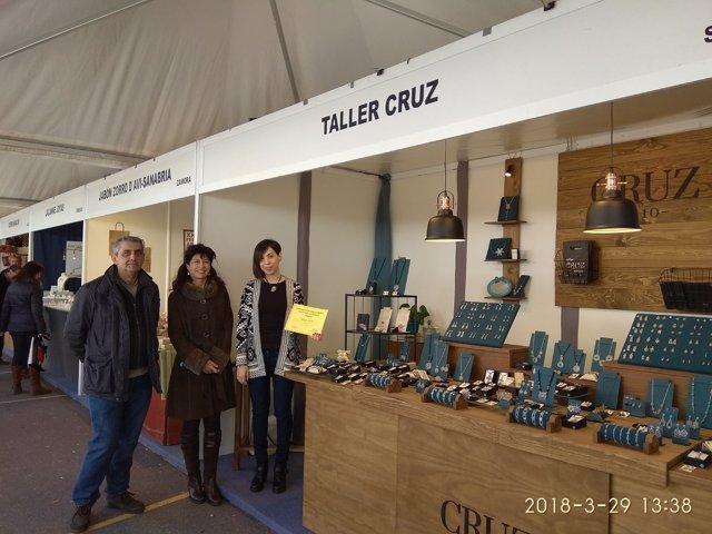 Entrega del premio de la Feria de Artesanía. 29-3-2018
