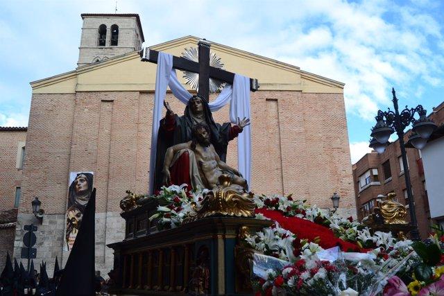 Valladolid (29-03-2018).- Procesión Penitencia y Caridad
