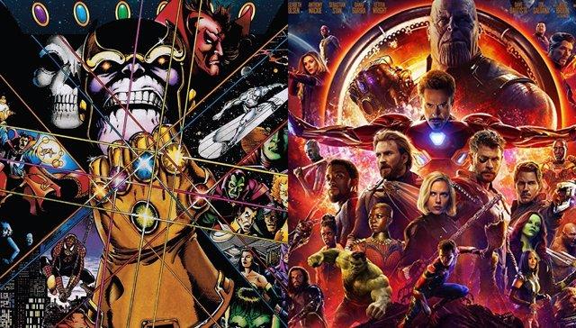 Los cómics que inspiran Vengadores: Infinity War
