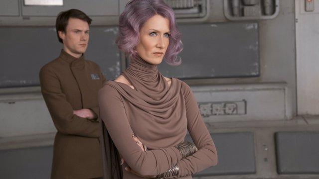 Laura Dern en Star Wars: Los últimos Jedi