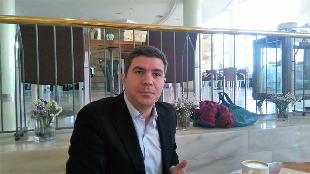 El diputado andaluz de Cs, Sergio Romero