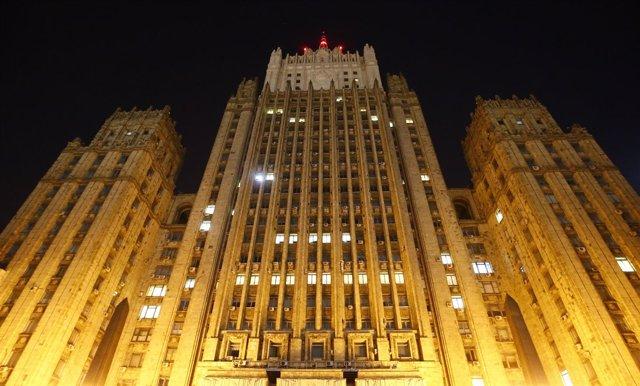 Sede del Ministerio de Exteriores ruso