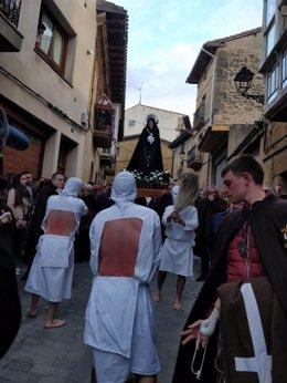 PIcaos de San Vicente en la procesión del Jueves Santo