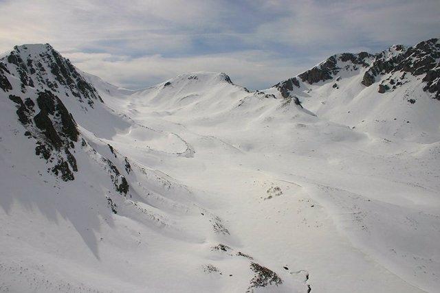 Nieve. Montañas. Recurso