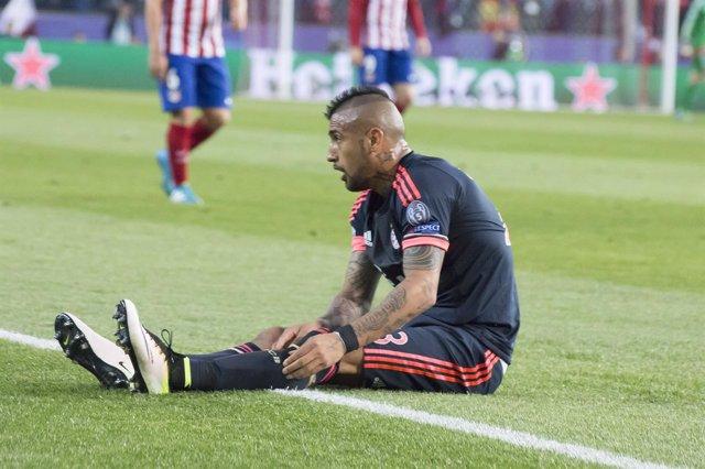Arturo Vidal, Champions League, Atlético de Madrid-Bayern de Múnich