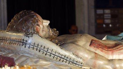 La proclamación de la Virgen como Reina del Dolor y el traslado del Cristo Yacente, este Sábado en Valladolid